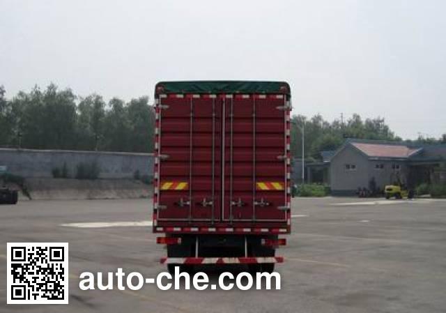 Sida Steyr ZZ5253CPYM56C1C1A soft top box van truck