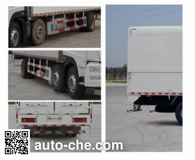 Sida Steyr ZZ5253XYKM56CGE1B wing van truck