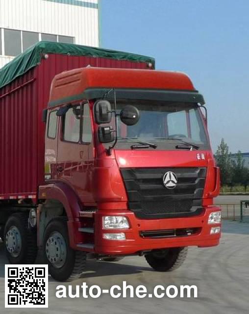 豪瀚牌ZZ5315CPYK4763C1蓬式运输车