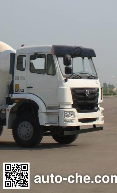 豪瀚牌ZZ5255GJBN3243D1混凝土搅拌运输车