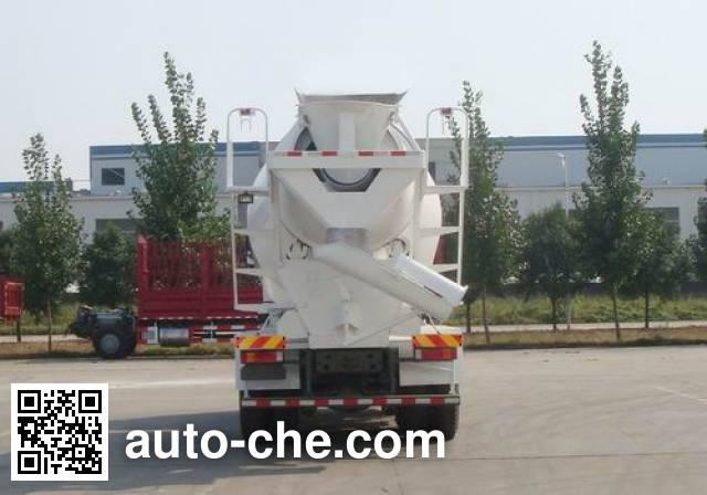 豪瀚牌ZZ5255GJBN4346D2L混凝土搅拌运输车