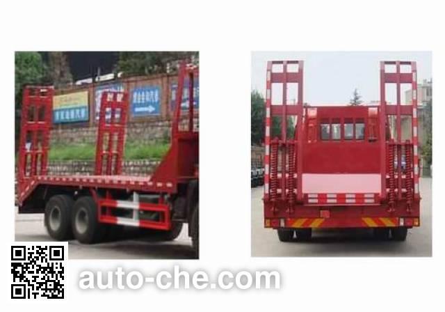 豪瀚牌ZZ5255TPBM4046D1平板运输车