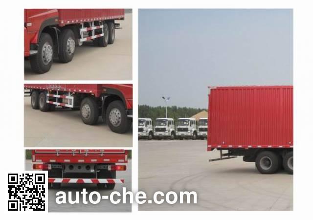 Sida Steyr ZZ5313XXYN4661E1N box van truck