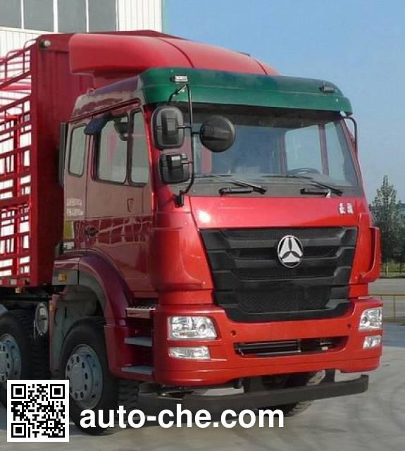 豪瀚牌ZZ5315CCQN4663D1畜禽运输车