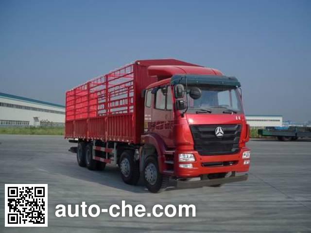 豪瀚牌ZZ5315CCYN4663E1仓栅式运输车