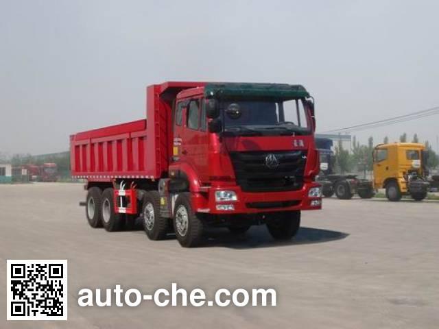 豪瀚牌ZZ5315ZLJN3266D1自卸式垃圾车
