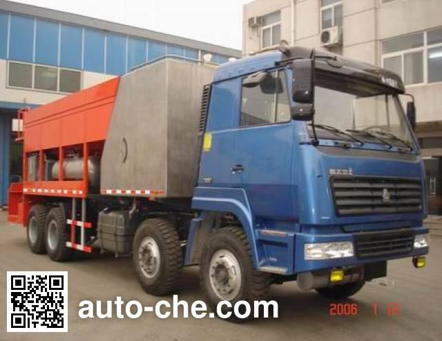Sida Steyr ZZ5316TXJM3866F slurry seal coating truck
