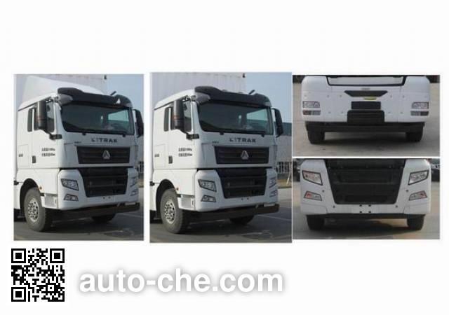 Sinotruk Sitrak ZZ5316XXYV466HE1 box van truck
