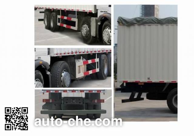 Sinotruk Howo ZZ5317CPYM466GC1 soft top box van truck