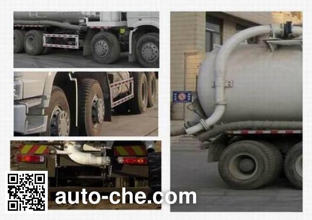 Sinotruk Howo ZZ5317GXPN4267C1 industrial vacuum truck