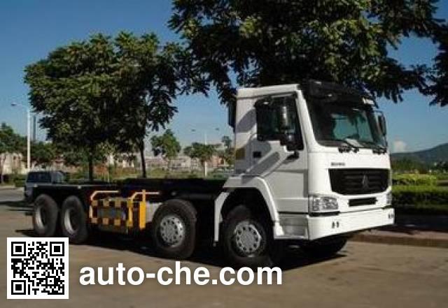 Sinotruk Howo ZZ5317ZXXN3268C2 detachable body garbage truck