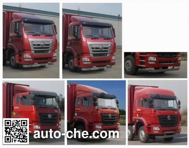 Sinotruk Hohan ZZ5325XXYN4663E1K box van truck