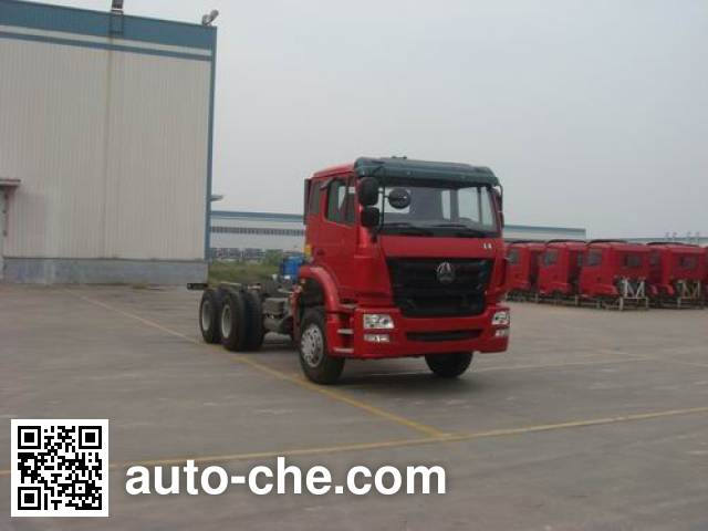 Sinotruk Hohan ZZ5345N4346D1 special purpose vehicle chassis