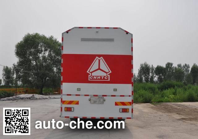 Sinotruk Howo ZZ5347TFSN4647D1 powder spreader truck