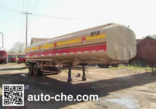 斯达-斯太尔牌ZZ9326GYY231运油半挂车