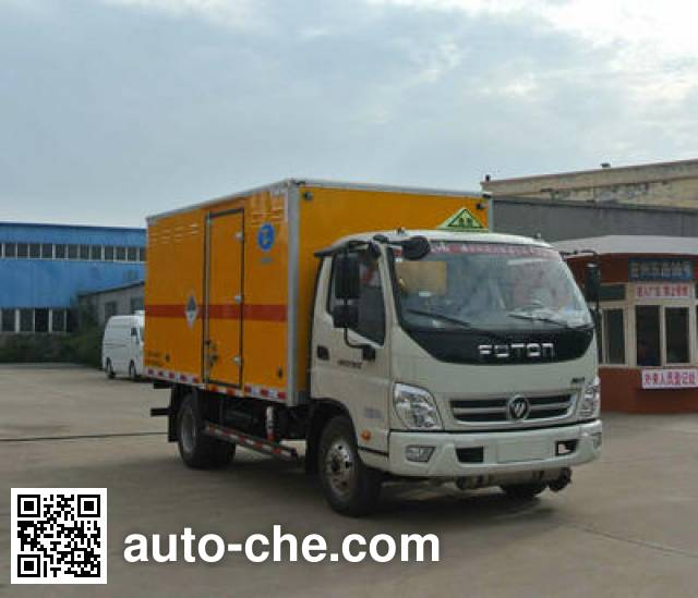 Xier ZZT5080XZW-5 dangerous goods transport van truck
