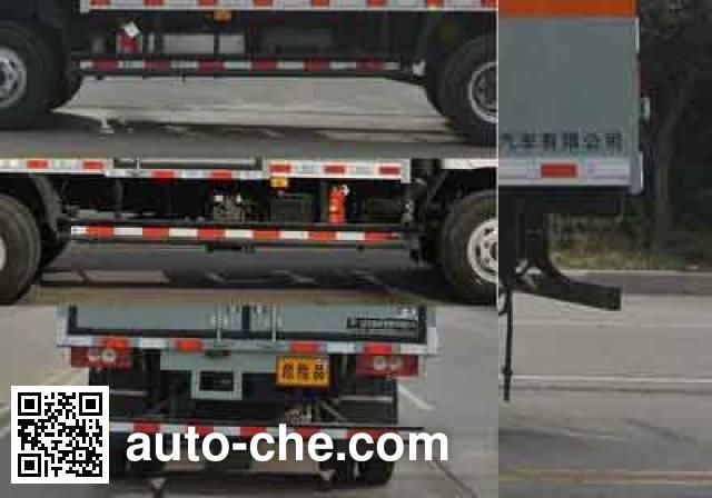 Xier ZZT5081XZW-5 dangerous goods transport van truck