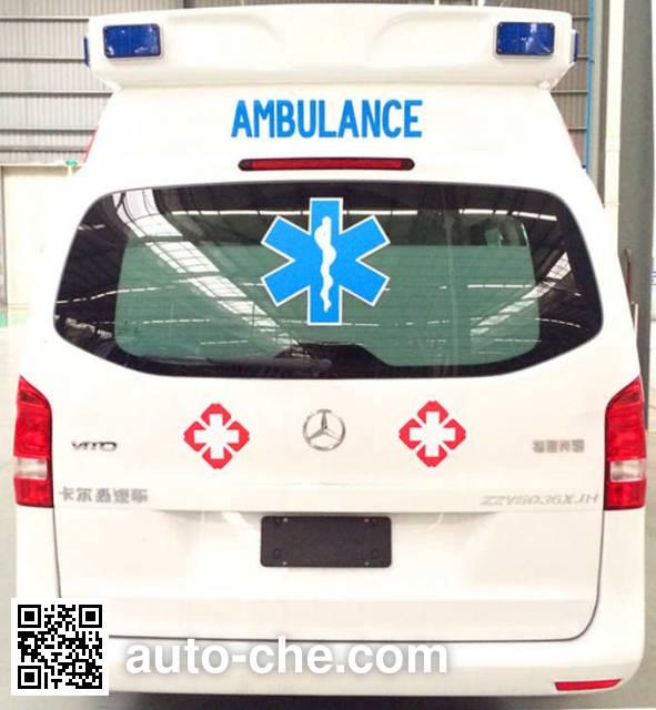 卡升牌ZZY5036XJH救护车
