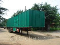 Huaxia box body van trailer