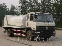 High pressure sewer flusher truck