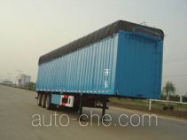 Kaile soft top box van trailer