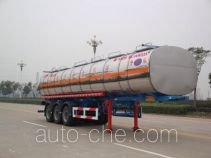 Kaile AKL9400GHYBW02 chemical liquid tank trailer