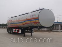 Kaile AKL9401GHYA chemical liquid tank trailer