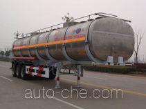 Kaile AKL9401GHYB chemical liquid tank trailer