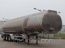 Kaile AKL9401GYS aluminium liquid food tank trailer