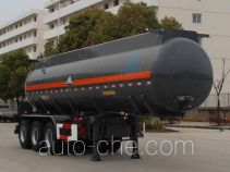 Kaile AKL9407GFW corrosive materials transport tank trailer