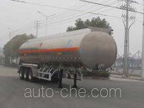 Kaile AKL9407GYY aluminium oil tank trailer