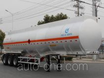 Kaile AKL9408GRYA flammable liquid aluminum tank trailer