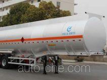 Kaile AKL9408GRYB flammable liquid aluminum tank trailer