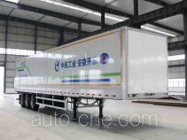 Kaile AKL9409XXY box body van trailer