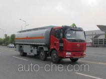 Jiulong ALA5250GRYC5 flammable liquid tank truck