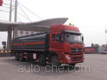 Jiulong ALA5310GRYDFH5 flammable liquid tank truck