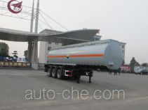 Jiulong ALA9401GFW corrosive materials transport tank trailer