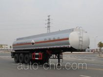Jiulong ALA9403GFW corrosive materials transport tank trailer