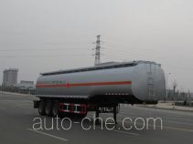 Jiulong ALA9408GRY flammable liquid tank trailer