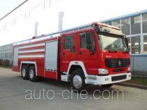 Jingxiang AS5303GXFPM150/H foam fire engine