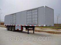 Shengde ATQ9380XXY box body van trailer