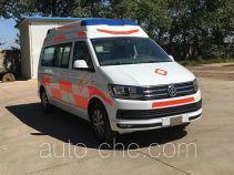 北铃牌BBL5036XJH型救护车