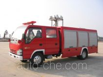 Longhua BBS5050TXFHJ22 chemical accident rescue fire truck