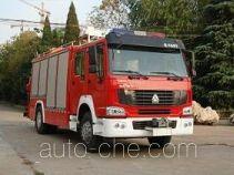 Longhua BBS5140TXFJY72 fire rescue vehicle