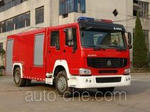Longhua BBS5190GXFSG80H fire tank truck