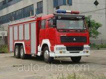 Longhua BBS5250GXFSG110S пожарная автоцистерна