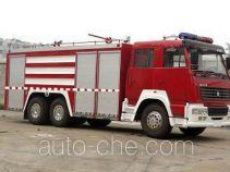 Longhua BBS5260TXFGL100 пожарный автомобиль тушения сухой водой