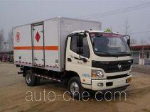 Foton BJ5089XRQ-A1 flammable gas transport van truck