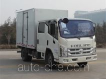 Foton cross-country box van truck