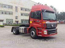 Foton Auman BJ4183SLFKA-AB седельный тягач для перевозки опасных грузов